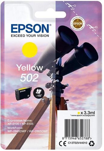 Epson 502, TPA yellow