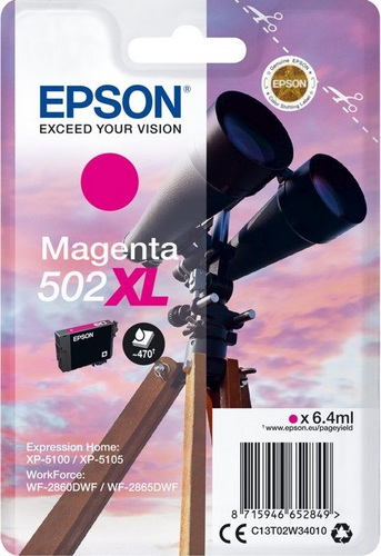 Epson 502XL, TPA magenta