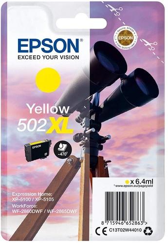 Epson 502XL, cartouche d'encre jaune