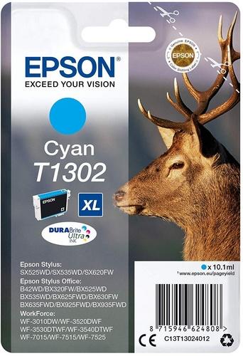 Epson T1302, TPA cyan, 10.1ml