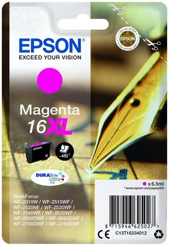 Epson 16XL, TPA magenta, 6.5ml, 450s