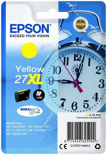 Epson 27XL, cartouche d'encre jaune, 1'100 pages, 10.4ml