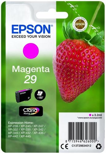 Epson 29, TPA magenta, 180s, 3.2ml