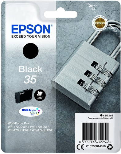 Epson 35, TPA schwarz, 16.1ml
