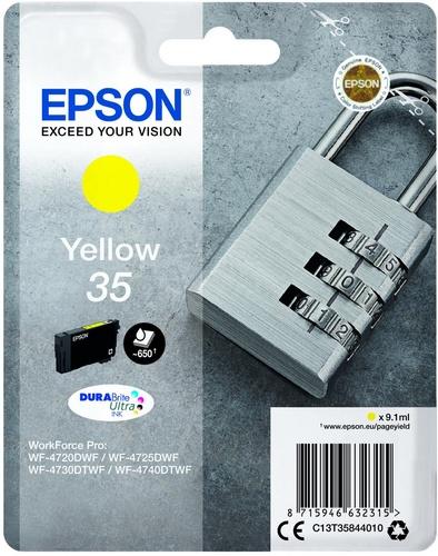 Epson 35, TPA yellow, 9.1ml