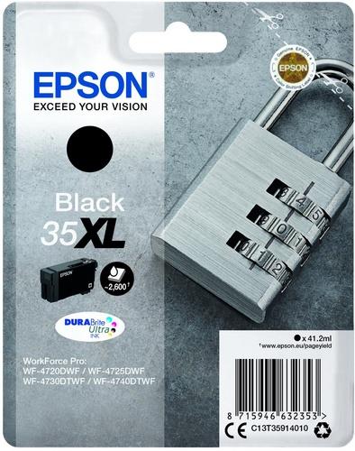 Epson 35XL, cartouche d'encre noir, 41.2ml