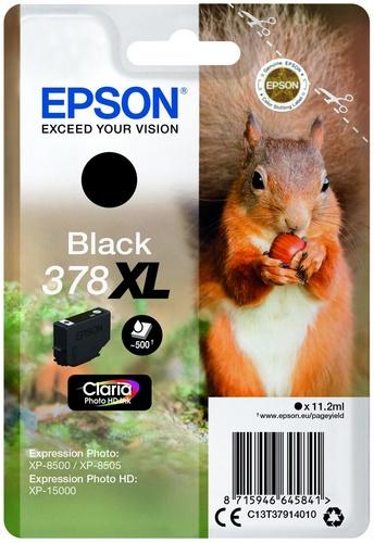 Epson 378XL, cartouche d'encre noir