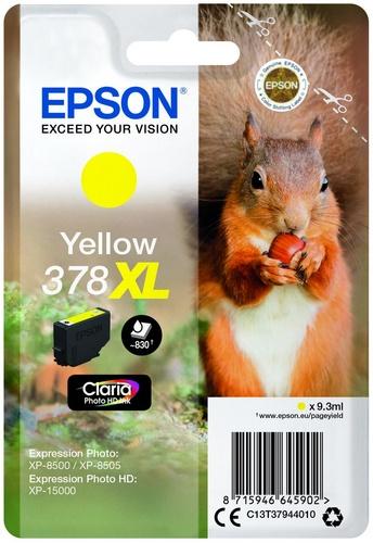 Epson 378XL, TPA yellow