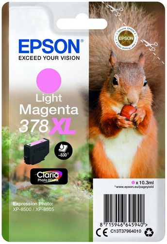Epson 378XL, TPA light magenta
