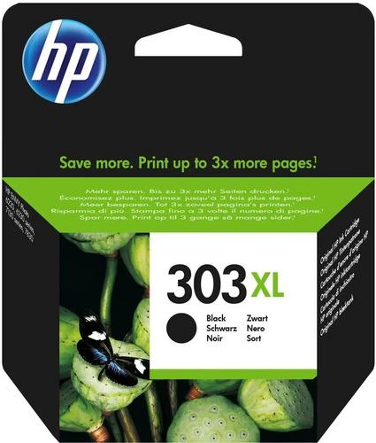 HP 303XL, TPA schwarz, 600 Seiten