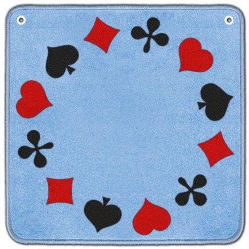 Tapis de jass piquet avec oeillets 65 x 65 cm jeux des cartes de d s acheter bas prix Tapis de jeux de carte