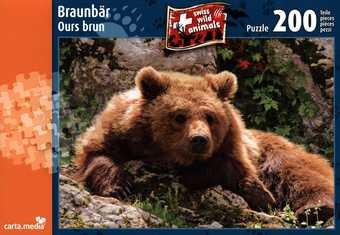 Braunbär - Puzzle [200 Teile]