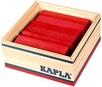 KAPLA Jeu en bois carré 40 rouge