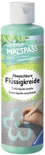Outdoor-Malspass: Flüssigkreide grün