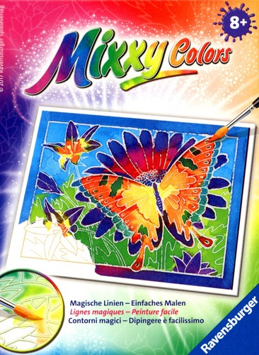 Mixxy Colors Mini: Schmetterling