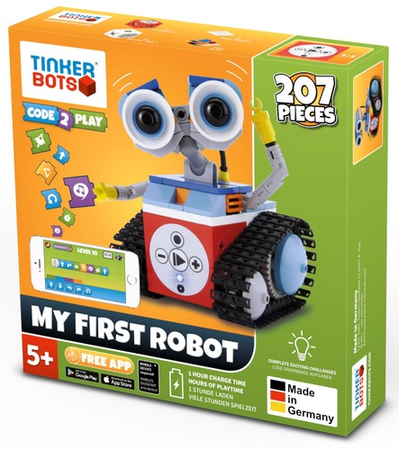 Tinkerbots: My first Robot