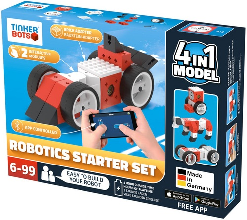 Tinkerbots: Robotics Starter Set 4 in 1