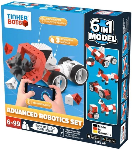 Tinkerbots: Advanced Robotics Set 6 in 1