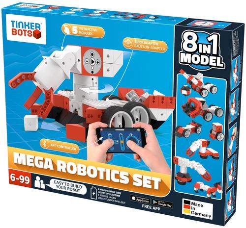 Tinkerbots: Mega Robotics Set 8 in 1