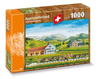 Pays d'Appenzell : Idylle d'été - Puzzle [1000 Pièces]