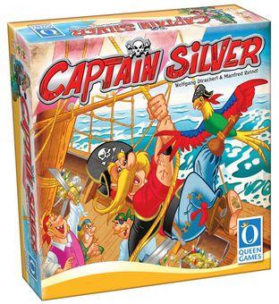 Captain Silver (Nominiert zum Kinderspiel des Jahres 2017) [Version allemande]