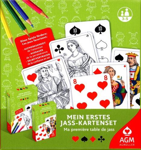 Mein erstes Jass-Karten-Set FR-Karten (Piquet)