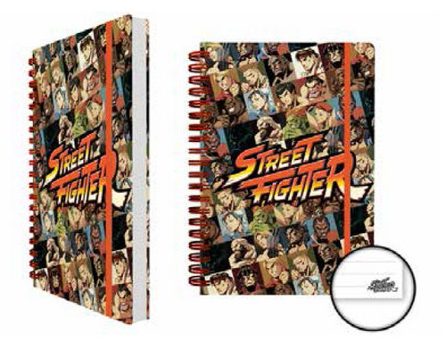 Street Fighter: Characters - Notizbuch [A5]